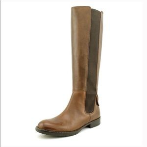 Franco Sarto brown tahini Riding boot